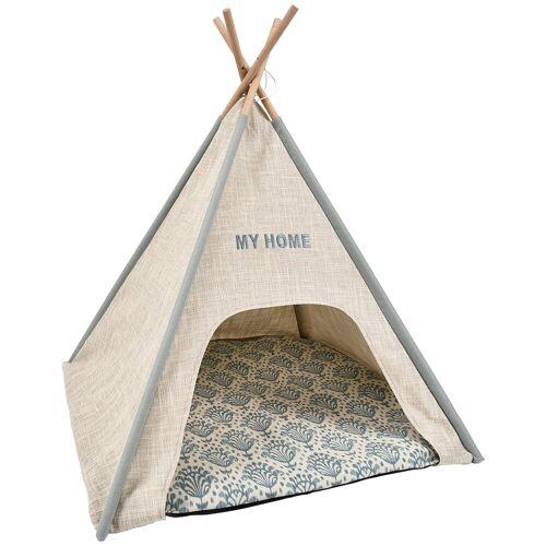 HEIM Hundehöhle und Katzenhöhle »Tipi-Zelt My Home«, BxLxH: 68x68x80 cm, beige