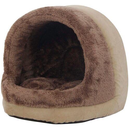 HEIM Hundehöhle und Katzenhöhle »Safari«, BxTxH: 35x39x37 cm, braun/beige
