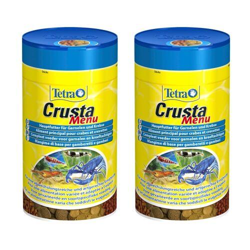 Tetra Garnelen-/Krebsfutter »Crusta Menu«, 2x100 ml, braun