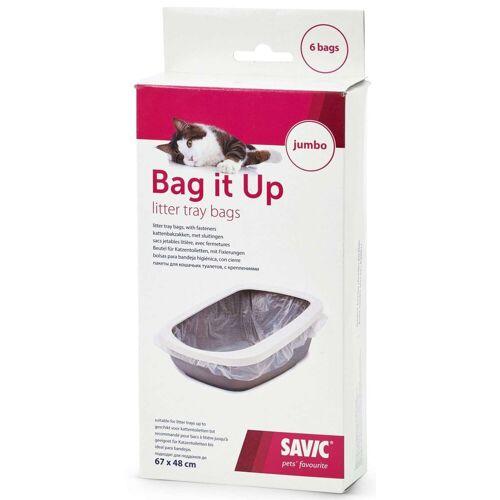 Savic Katzentoilette »BAG IT UP Beutel«, für große Katzentoiletten 6er Pack