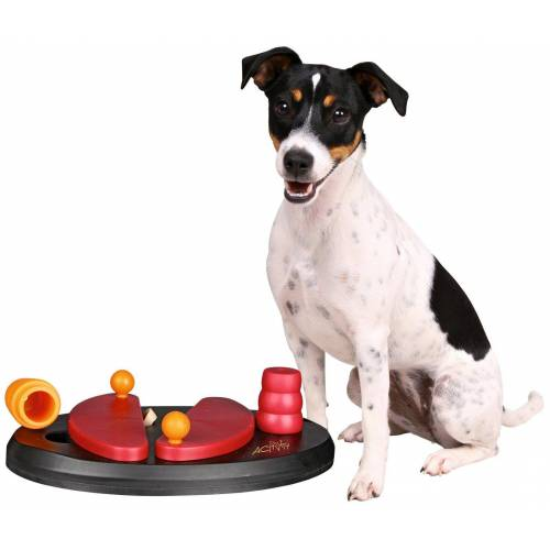 TRIXIE Hundespielzeug »Push Away Strategiespiel«, rot
