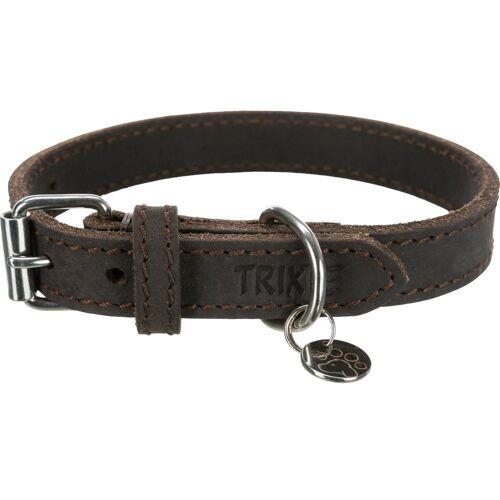 TRIXIE Hunde-Halsband »Rustic Fettleder«, Leder