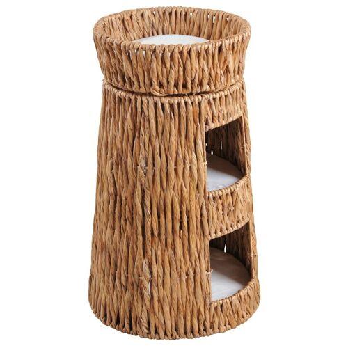 SILVIO design Tierkorb »Korbturm Wasserhyazinthe«