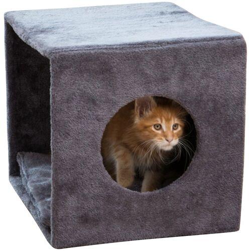 ABUKI Hundehöhle und Katzenhöhle BxL: 34x38 cm, grau
