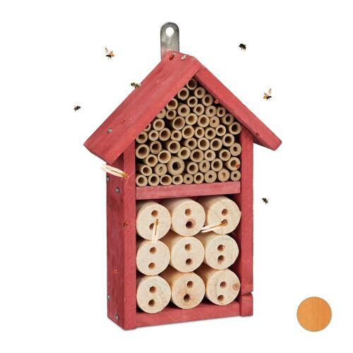 relaxdays Insektenhotel »Insektenhotel Bausatz«, Rot