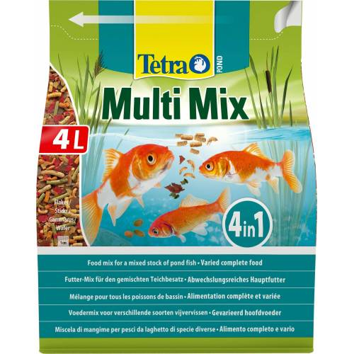 Tetra Fischfutter »Pond MultiMix«, 4 Liter, braun