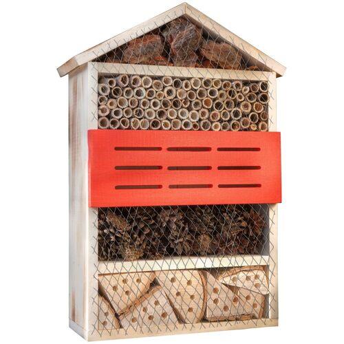 Windhager Insektenhotel »5 Sterne«, BxTxH: 14x33x50 cm, braun