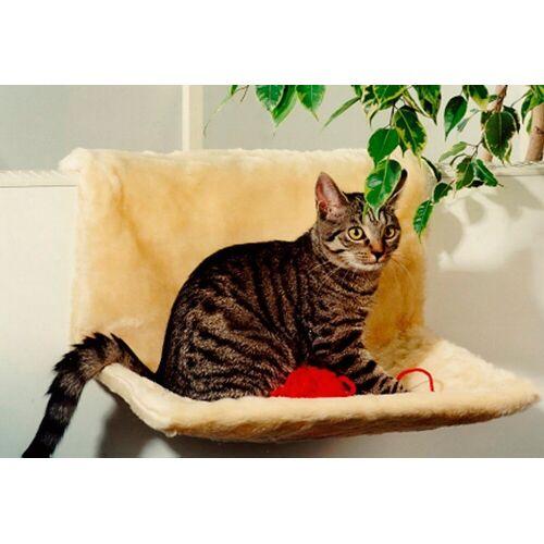 SILVIO design Katzen-Heizkörperliege »Plüsch«, beige