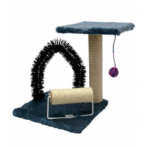 SILVIO design Kratzbaum »Cat like«, blau