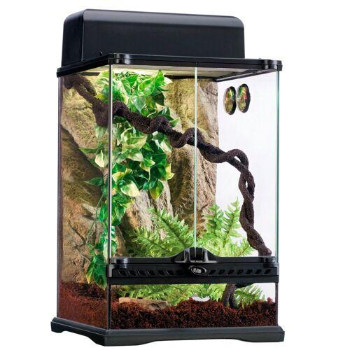 Exo Terra Terrarium-Set »Rainforest«, schwarz
