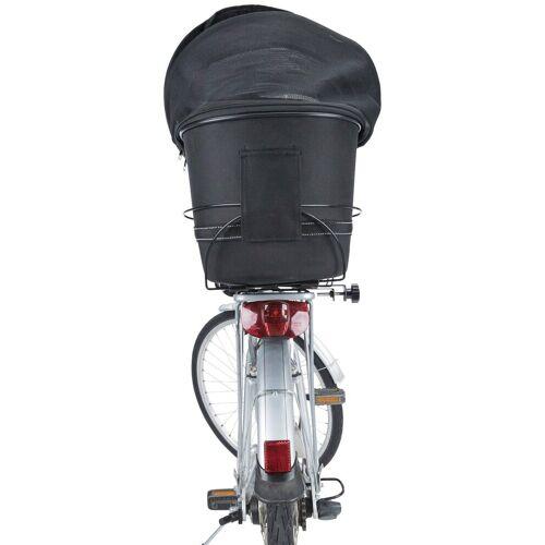TRIXIE Hunde-Fahrradkorb »Long«, für breite Gepäckträger, BxTxH: 29x60x49 cm, schwarz