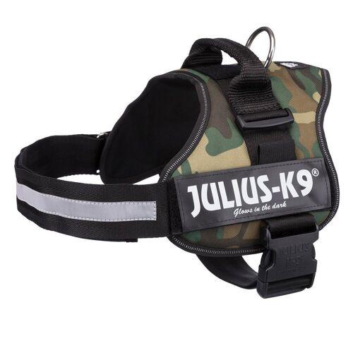 Julius-K9 Hunde-Geschirr, Nylon, camouflage