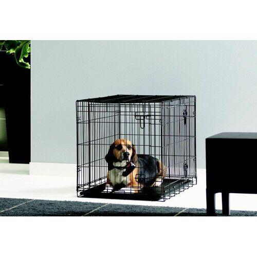 HEIM Hundezwinger »Hundekäfig-Dog Cottage«, schwarz