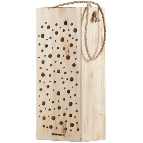 Windhager Insektenhotel »Wildbienennistholz«, BxTxH: 10x13x30 cm, braun