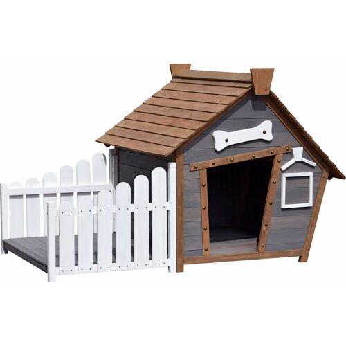 dobar Hundehütte, BxTxH: 146,3x90x96 cm