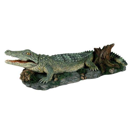 TRIXIE Aquariendeko »Krokodil«, 26 cm, mit Auströmer, bunt