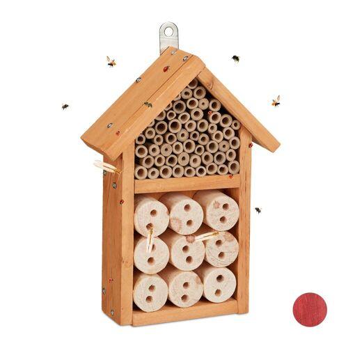 relaxdays Insektenhotel »Insektenhotel Bausatz«, Gelb