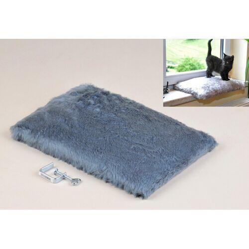 SILVIO design Katzenliege »Fensterliege Relax«, blau