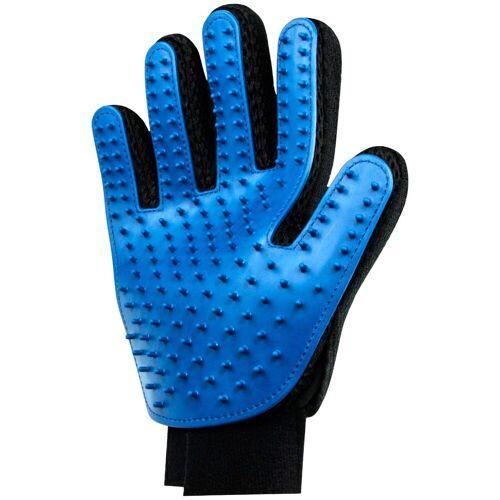 HEIM Fellpflege-Handschuh 2 Stück mit Gummiborsten, blau