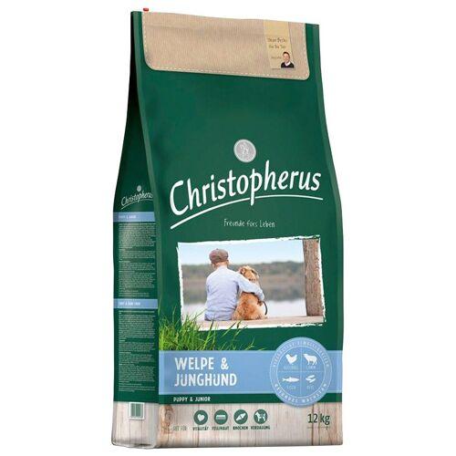 Christopherus Hundetrockenfutter »Welpe - Junghund«, 12 kg, braun