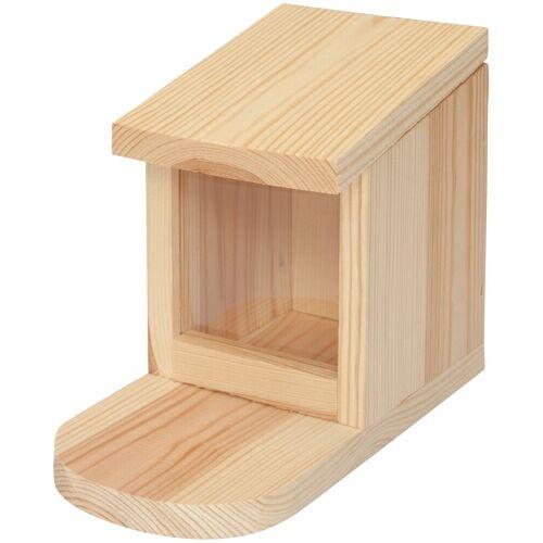 Kiehn-Holz Eichhörnchenkobel BxTxH: 12x22x17 cm, braun