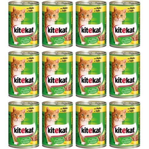 Kitekat Katzennassfutter »Huhn«, braun