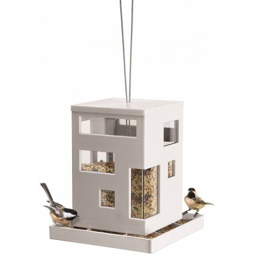 "Umbra Vogelhaus »Vogel-Futterhaus ""Bird Café"", H20 x B18 x T18 cm«"