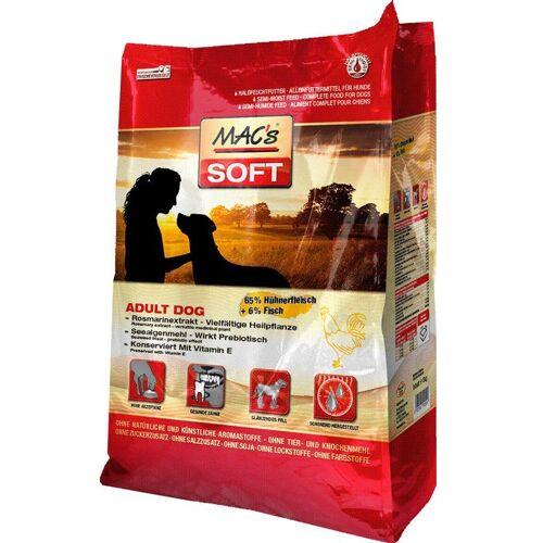 MAC'S Trockenfutter »Soft Adult Dog Huhn & Fisch«, für Hunde, 15 kg