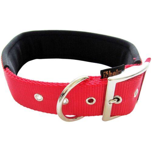 HEIM Hunde-Halsband, Nylon, mit Neopren-Futter, Länge: 60 cm