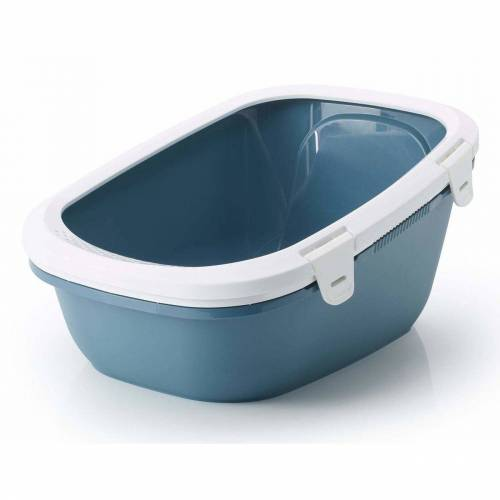 Savic Katzentoilette »Simba Sift Sieb«, blau