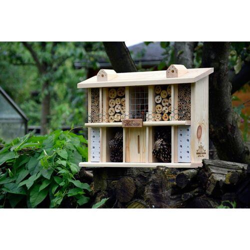 LUXUS-INSEKTENHOTEL Luxusinsektenhotels Insektenhotel »Landsitz Superior«, natur