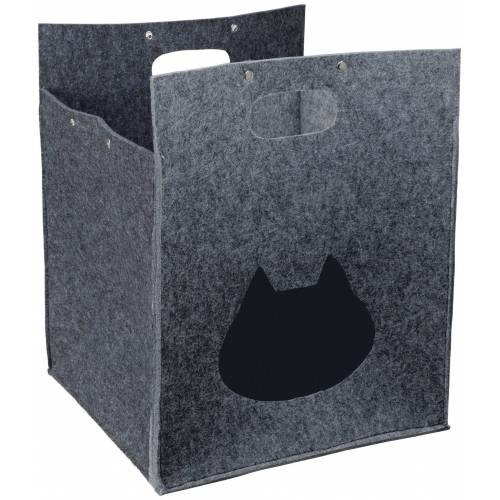 TRIXIE Hundehöhle und Katzenhöhle »Antonia«, BxT: 40x40 cm, grau