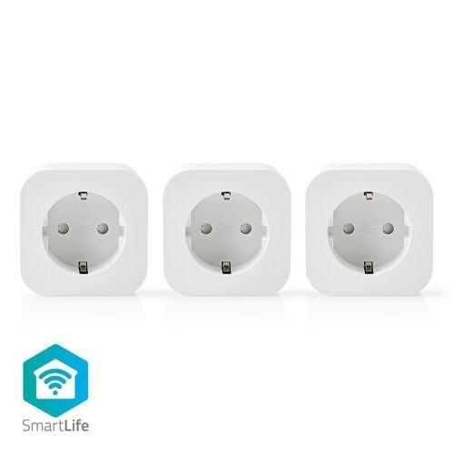 nedis Steckdose »- 3er-Pack - App-Steuerung - Drahtlos/ Wireless«