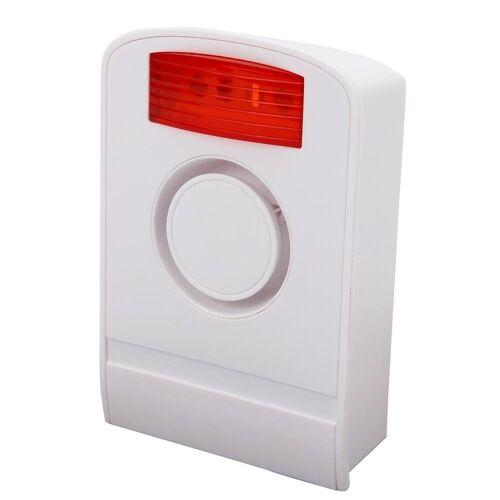 Olympia »Außensirene« Alarmanlage (Funk-Alarmanlage, 105 dB, Sicherheitstechnik, Sirenen, wei)