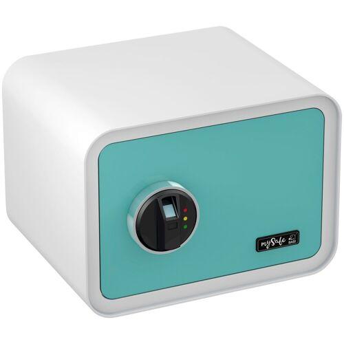BASI Tresor »mySafe 350«, mit Fingerabdruck, blau