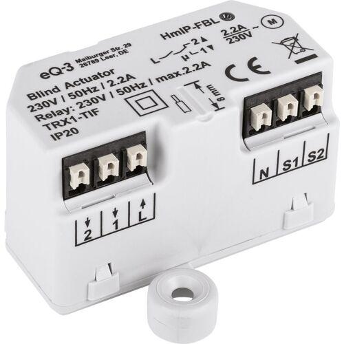 Homematic IP Smart Home »Jalousieaktor – Unterputz (151398A0)«, Weiß