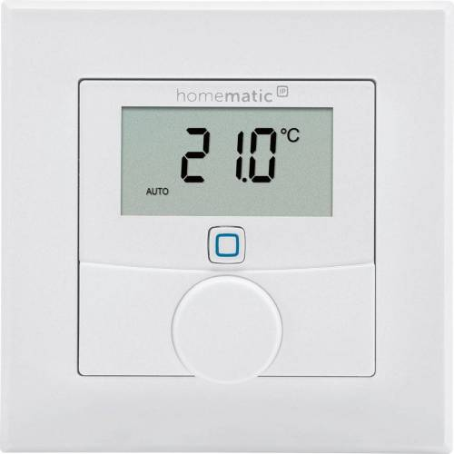 Homematic IP Smart Home »Wandthermostat (143159A0)«, Weiß