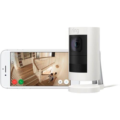 Ring »Stick Up Cam Elite« Smart Home Kamera (Außenbereich, Innenbereich), weiß