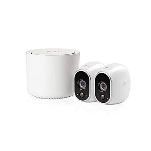 ARLO Sicherheitssystem mit zwei HD-Kameras »Kabelloses Sicherheitssystem«, weiß