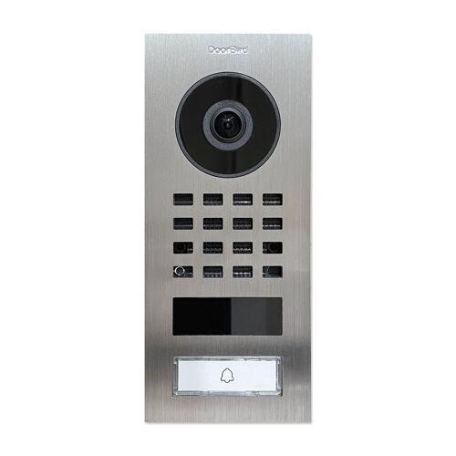 DoorBird »D1101V« Smart Home Türklingel (Außenbereich), Silbern (Aufputz)