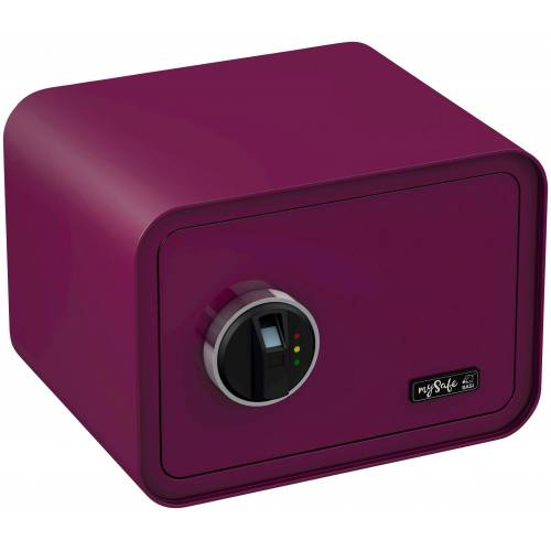 BASI Tresor »mySafe 350«, mit Fingerabdruck, lila