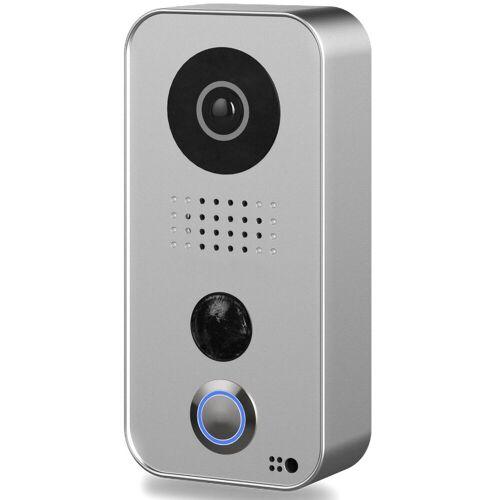 DoorBird »D101« Smart Home Türklingel (Außenbereich), Silber