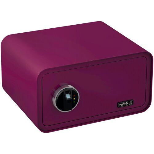 BASI Tresor »mySafe 430«, mit Fingerabdruck, lila