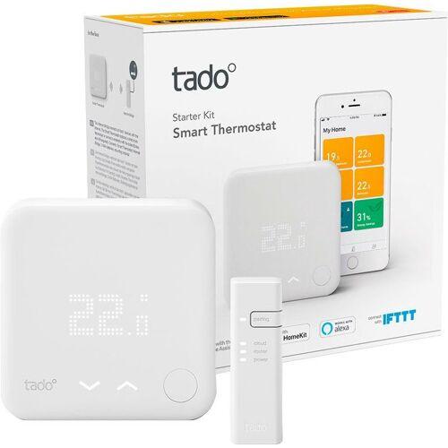 Tado »Smartes Heizkörperthermostat Smart Thermostat - Starter Kit V3+ inkl. 1 Bridge« Smartes Heizkörperthermostat