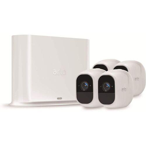 ARLO Pro2 Sicherheitsystem mit 4 Kameras »Sicherheitssystem mit 4 Wire-Free HD-Kameras«, weiß