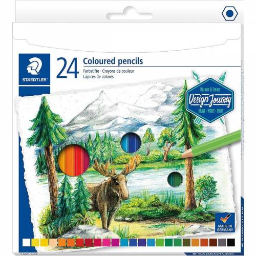 Staedtler Buntstift »Design Journey Bunstifte, 24 Farben«