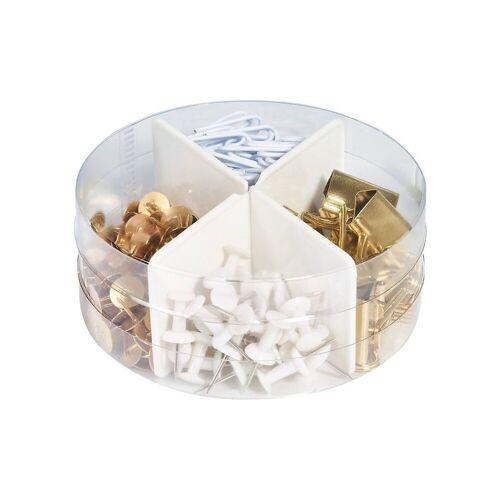 Herlitz Aufbewahrungsbox »Schreibtisch-Mixbox 4in1 Pure Glam, über 300 Teile«