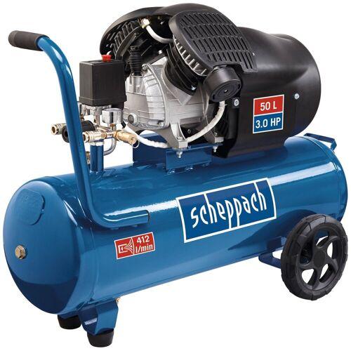 Scheppach Doppelzylinder Kompressor »HC53dc«, blau