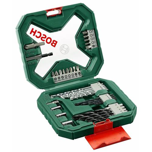 Bosch Bohrer-und Bit-Set »X-line (34-tlg.)«, grün