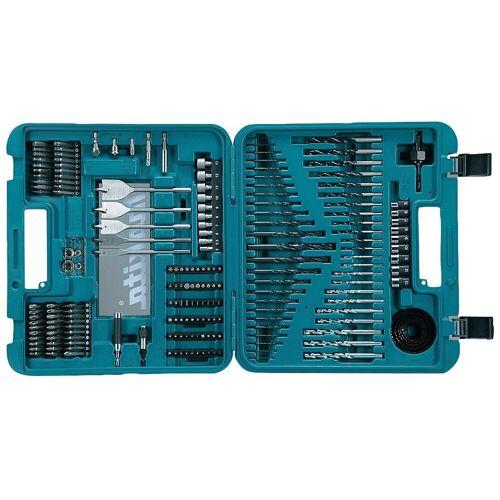Makita Bohrer-Bit-Set »D-47260«, (200-tlg.), blau